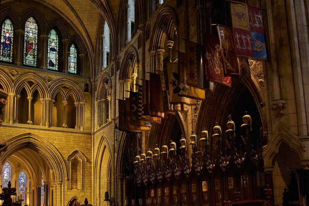 St. Patrick's Cathedral was named for the same St. Patrick who was sent to Ireland by the Pope to bring Christianity to pagan Ireland in the Fifth Century and who baptized the King of Munster in 455 at the Rock of Cashel.
