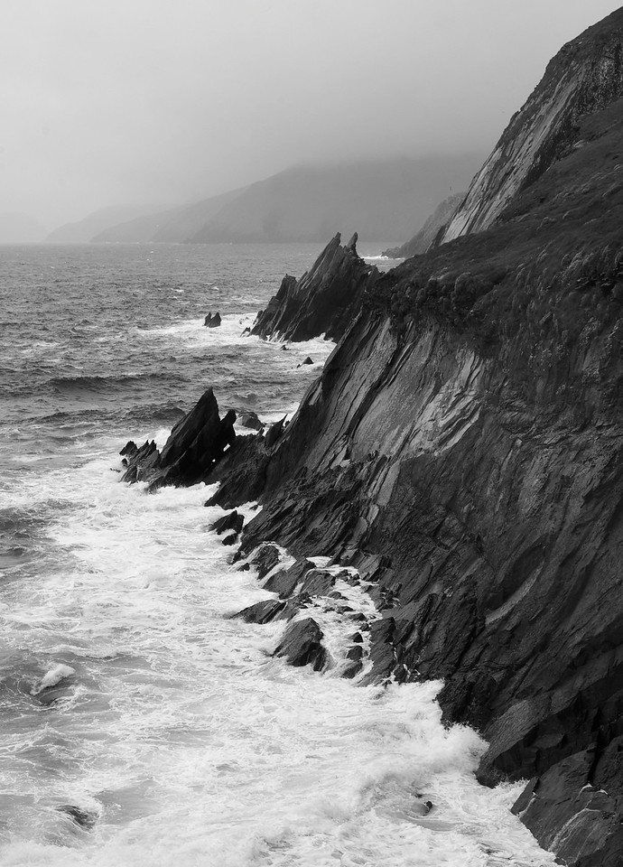 The landscape of the Slea Head coastline is spectacular.