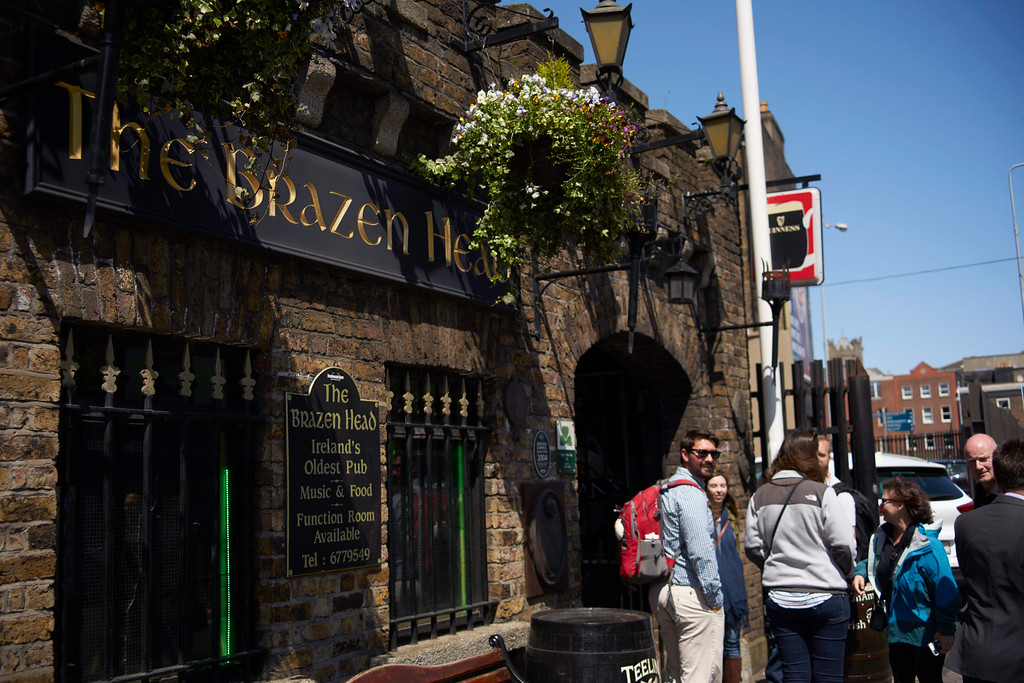 The Brazen Head is emblematic of all the great pubs we enjoyed in Ireland.