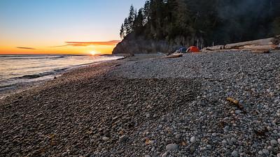 Rocky Beach Camping