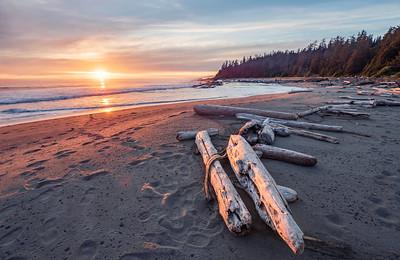 West Coast Trail Sunset