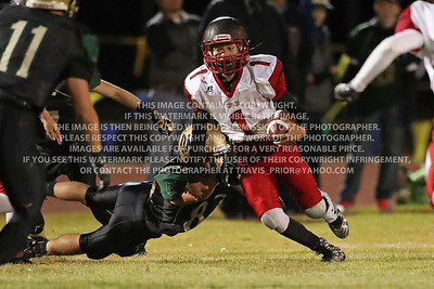 September 30, 2016 Ignacio High School Varsity Football vs Monte Vista