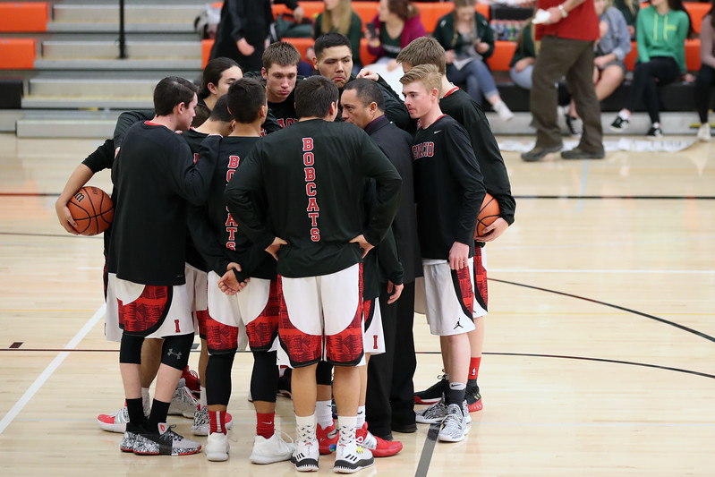 2018 Ignacio High School Varsity Basketball vs Ridgeway Feb 23