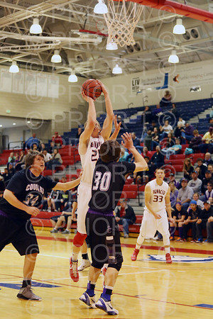 Ignacio High School Varsity Boys Basketball Great 8 First Round vs Sedgewick County Thursday March 12, 2014LRDE0028
