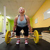 Jackie Healy, 13, works out at Ignite Fitness Performance, which recently moved to Lunenburg. SENTINEL & ENTERPRISE / Ashley Green