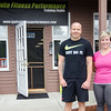 Greg Burns and Yanina Fuasro, of Ignite Fitness Performance, which recently moved to Lunenburg. SENTINEL & ENTERPRISE / Ashley Green