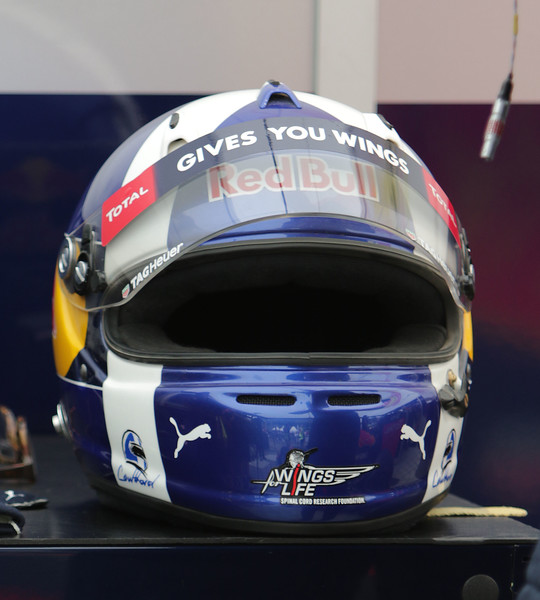 David Coulthard helmet