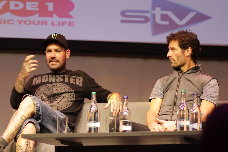 Shane Lynch and  Mark Webber