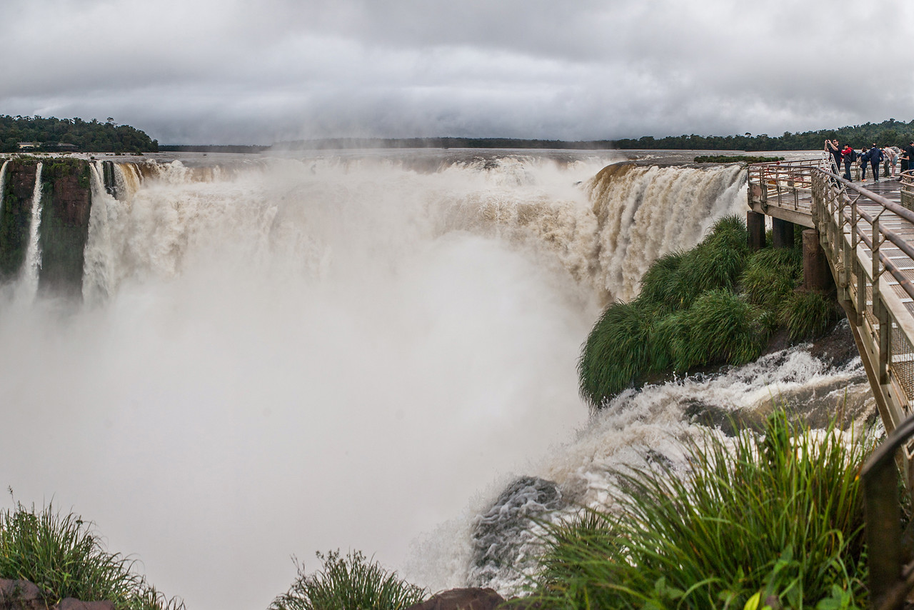Devils throat of Iguazu Falls, Argentina
