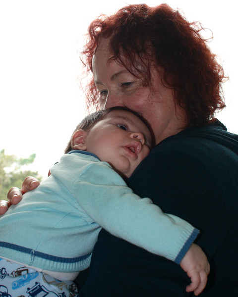 Ilan and Savta (grandma) Ditza