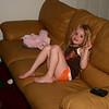 kicking back watching some TV