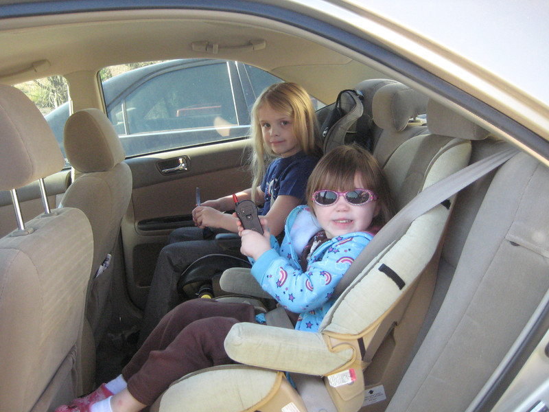 Ilia's going for a ride with Cousin Zoey