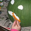 The zombie was Ilia's idea she designed it.  The other pumpkins where from a design in a magazine.