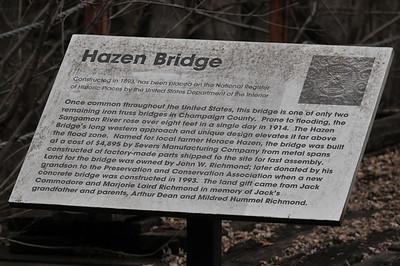 Hazen Bridge and Great Blue Heron Rookery