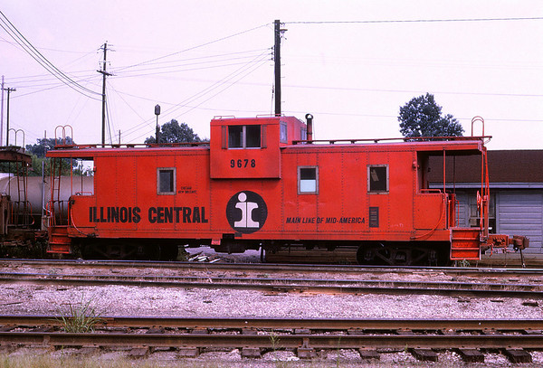 ICRR 88 - Aug 16 1973 - Caboose 9678 @ Fulton KY