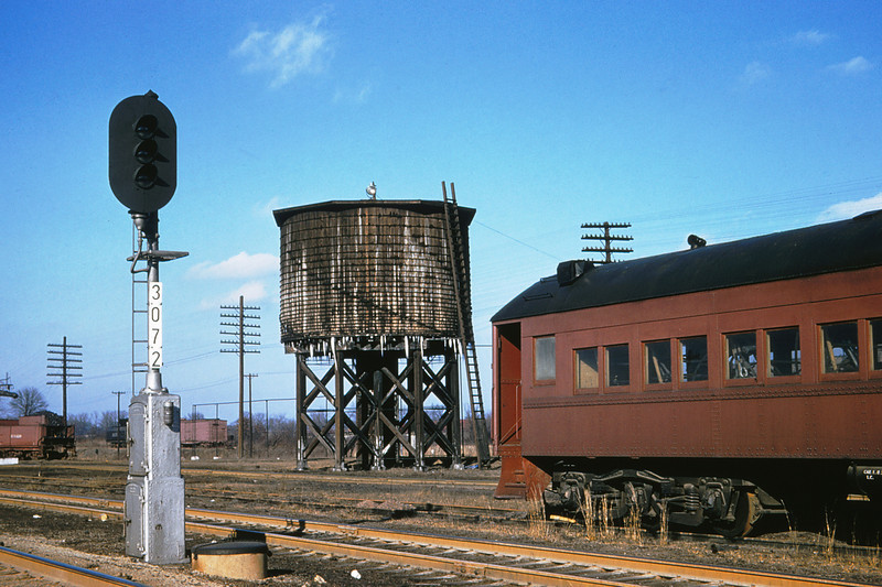 ICRR 57 - Jan 29 1958 - Water Tank at Carbondale ILL