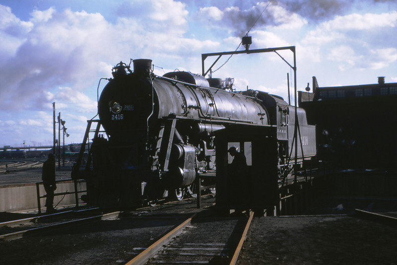 ICRR 21 - Mar 6 1955 - 4 8 2 No 2416 at E  St Louis ILL