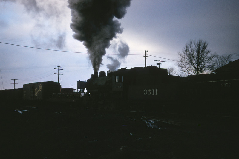 ICRR 27 - Jan 29 1958 - 0 8 0 no  3511 in yards south of Centralia ILL