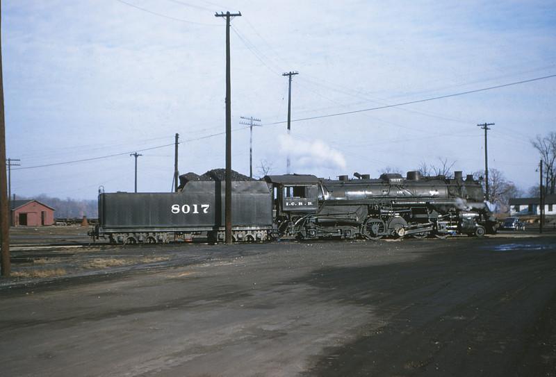 ICRR 3 - Dec 22 1954 - 2 8 4 no  8014 Bearkshire at Fulton KY