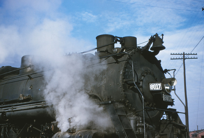 ICRR 8 - Dec 22 1954 - 2 8 4 no  8017 at Fulton KY