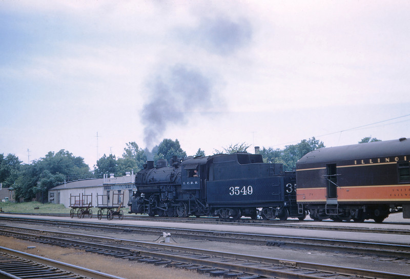 ICRR 66 - Jun 18 1958 - 0 8 0 no 3549 switching depot at Carbondale ILL