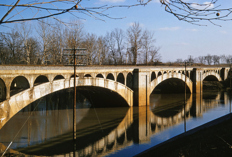 ICRR 60 - Jan 29 1958 - Bridge 4 miles north of Carbondale ILL