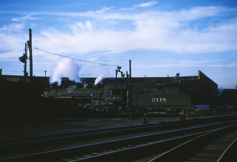 ICRR 10 - Dec 30 1954 - 2 8 2 no  2118 at East St  Louis Yards