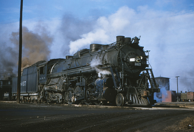 ICRR 6 - Dec 22 1954 - 2 8 4 no  8017 at Fulton KY