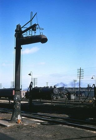 ICRR 35 - Jan 29 1958 - standpipe & 0 8 0 no  3547 at Carbondale ILL
