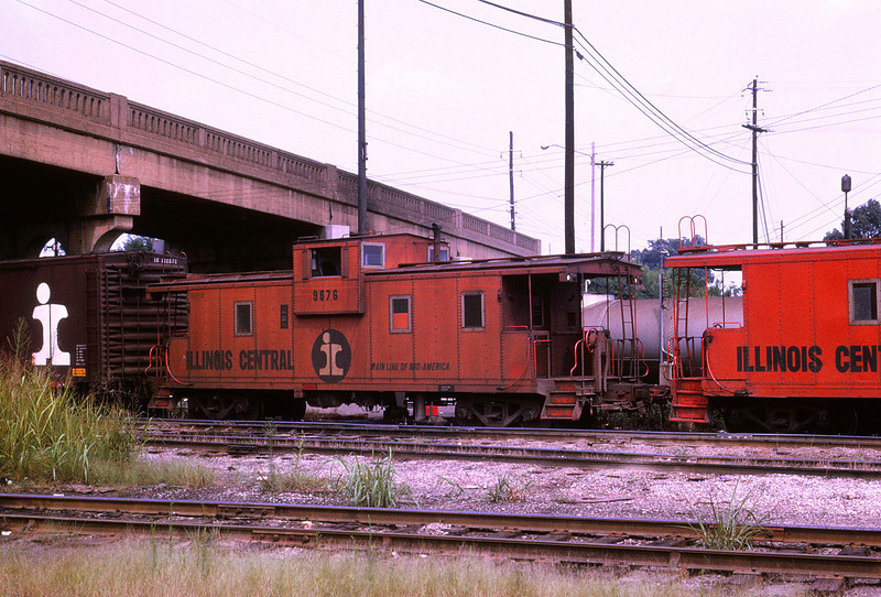 ICRR 89 - Aug 16 1973 - Caboose 9576 @ Fulton KY