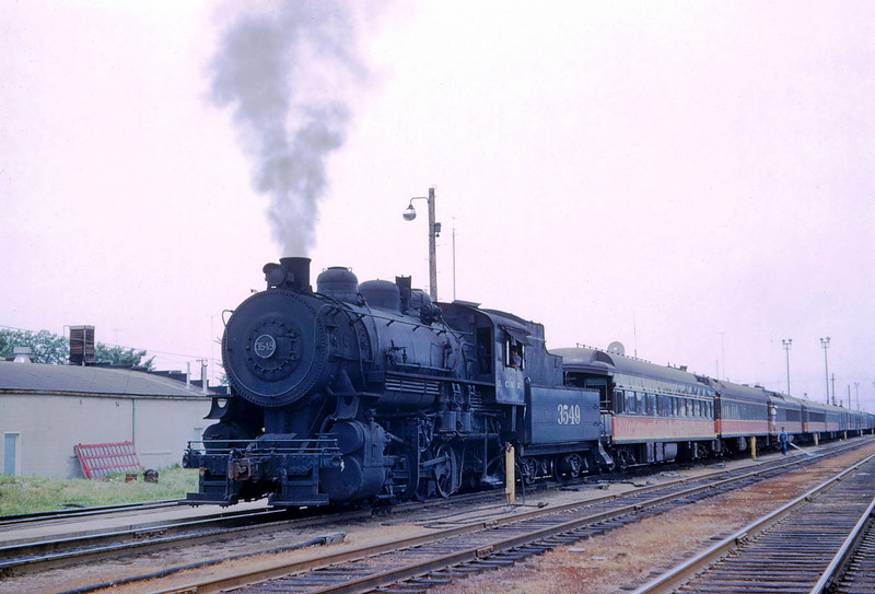 ICRR 67 - Jun 18 1958 - 0 8 0 no  3549 switching depot at Carbondale ILL
