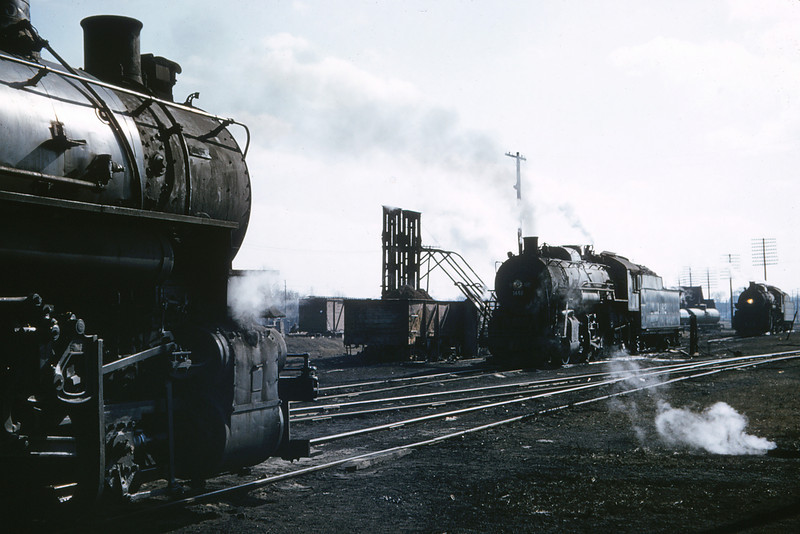 ICRR 47 - Jan 29 1958 - 0 8 0 no  3549, 2 8 2 no  1462 & 2 8 2 no 1680 at Carbondale ILL