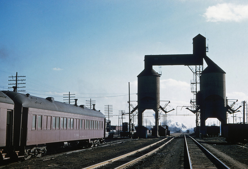 ICRR 58 - Jan 29 1958 - Coaling Towers at Carbondale ILL