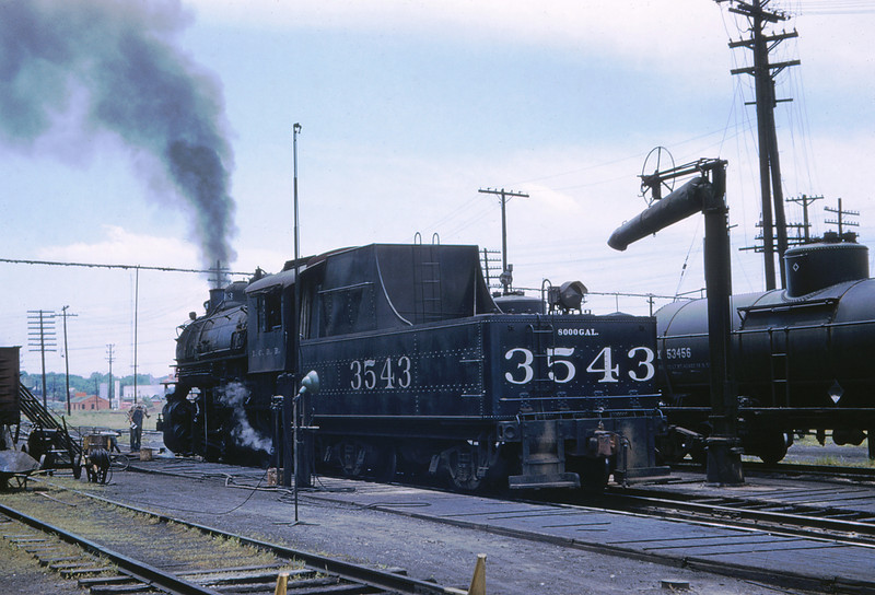 ICRR 62 - Jun 18 1958 - 0 8 0 no  3543 at Carbondale ILL