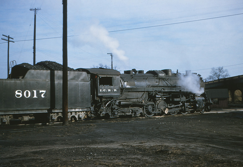 ICRR 5 - Dec 22 1954 - 2 8 4 no  8017 at Fulton KY