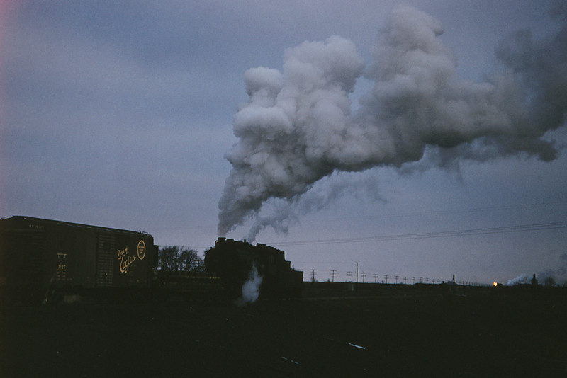 ICRR 25 - Jan 29 1958 - 0 8 0  no  3511 in yards south of Centralia ILL