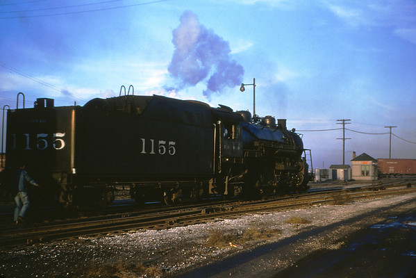 ICRR 11 - dec 30 1954 - 4 6 2 No 1155 at relay depot E  St Louis ILL