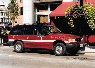 X Battalion 1 B-453 2000 Ford Explorer Photographed 9/29/01 Scanned photo 6/16