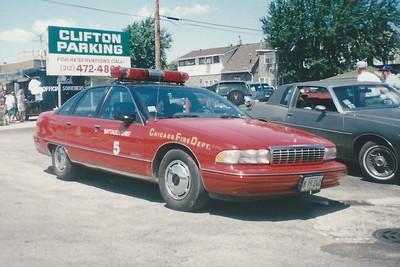 X B5 A-330 1991 Chevrolet Caprice