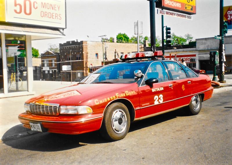 X Batt 23 A-347 1992 Chevrolet Caprice