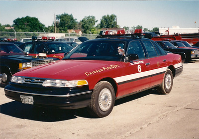 X Battalion 6 A-406 1996 Ford Crown Victoria Photographed 1996