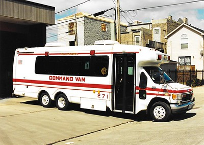 Chicago, IL X-Command Van 271 G 514 1994 Ford/Supreme Scanned 5/16