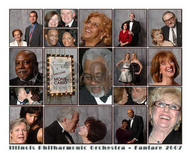 "What a great evening! This collage is 16x20"", and will print best at 16x20"" or 8x10""."