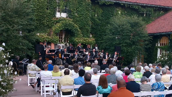 "The Southland Jazz Ensemble performs ""The Sound Of Joy"" at Ravisloe Country Club."