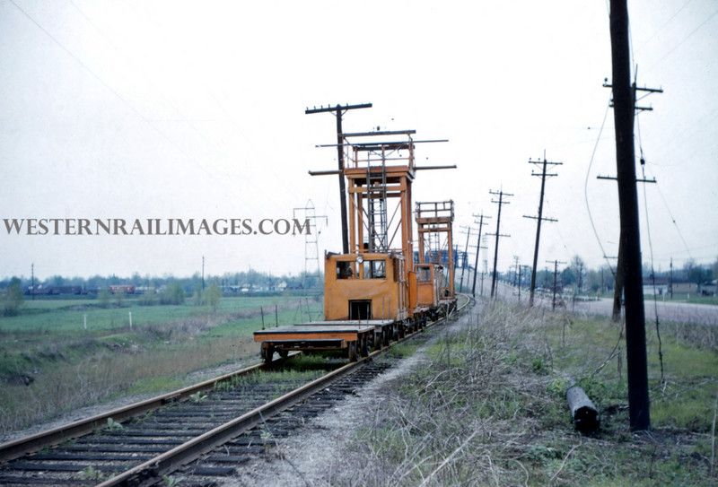 ITS 200 - May 1 1956 - dismantling equipment east of Lang ILL