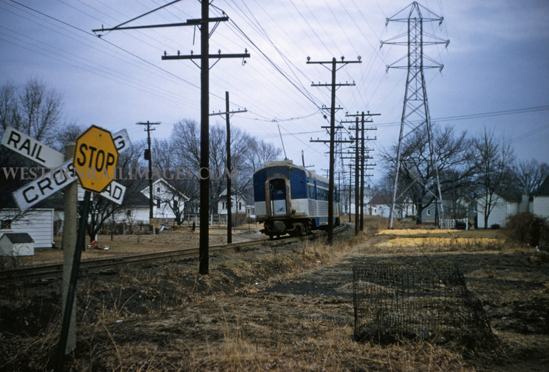 ITS 95 - Dec 28 1955 - Car 301 nb out of Edwardsville ILL