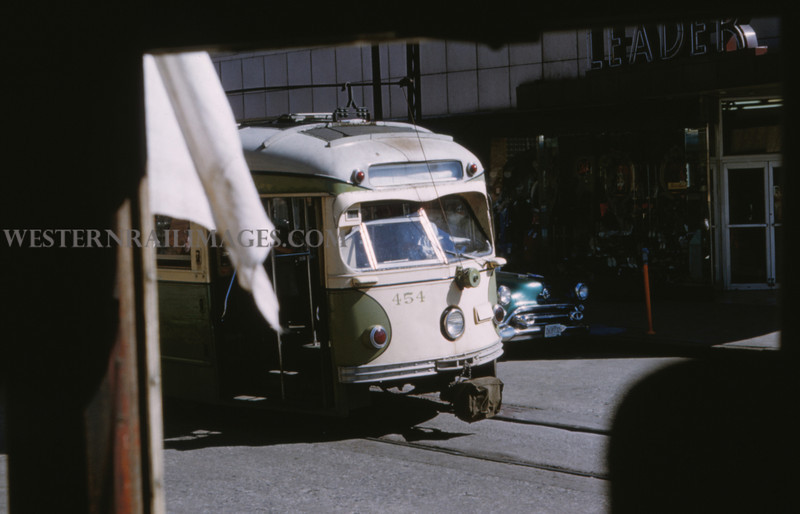 ITS 223 - Jun 21 1958 - Car 454 on Xover - Granite City ILL