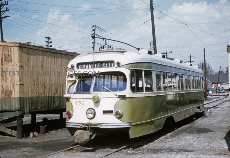 ITS 19 - Sep 19 1954 - Car 455 - Granite City ILL