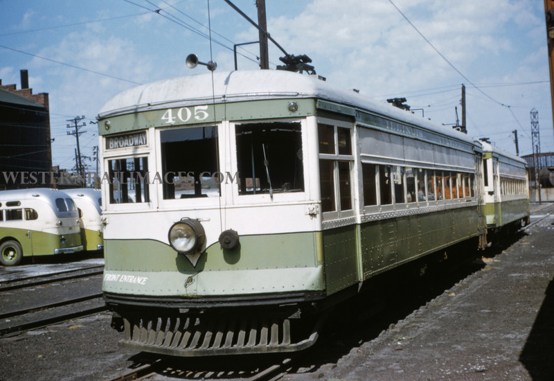 ITS 15 - Sep 19 1954 - local car 405 - Granite City ILL