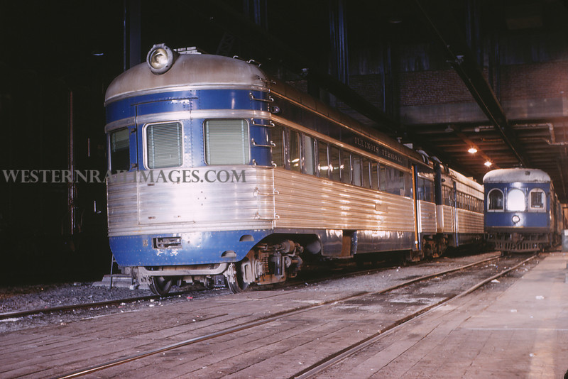 ITS 143 - Mar 4 1956 - Car 352 & 276 in 12th street terminal - St Louis MO